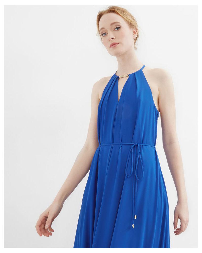 Ted Baker Bar detail maxi dress Blue