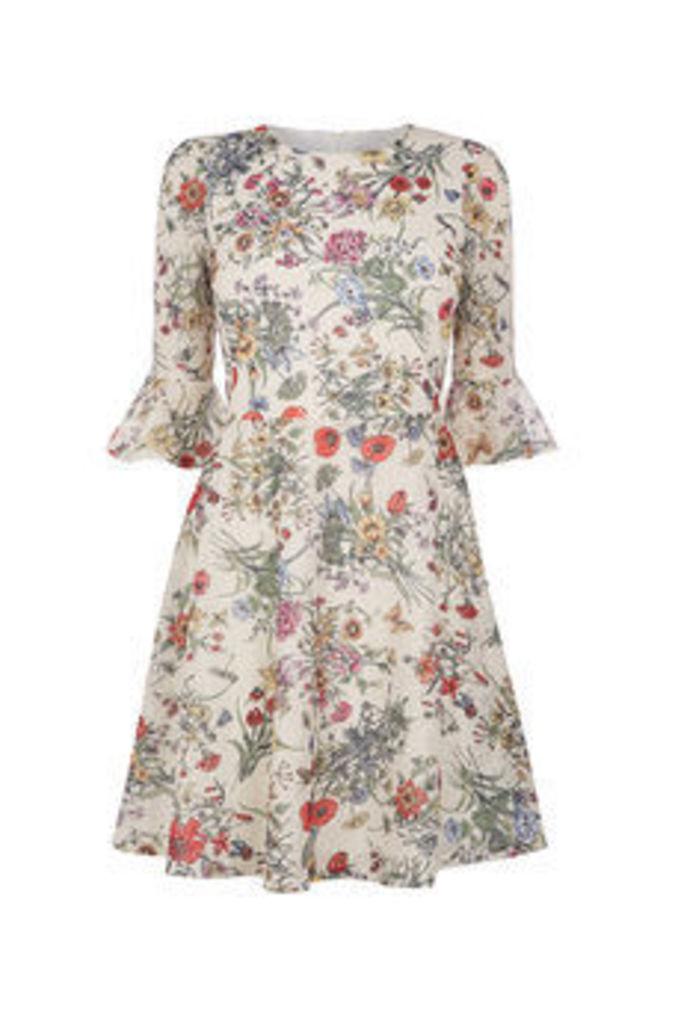 AZELIA LACE PRINT DRESS