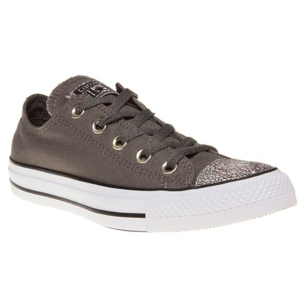 Converse All Star Ox Trainers, Charcoal/White