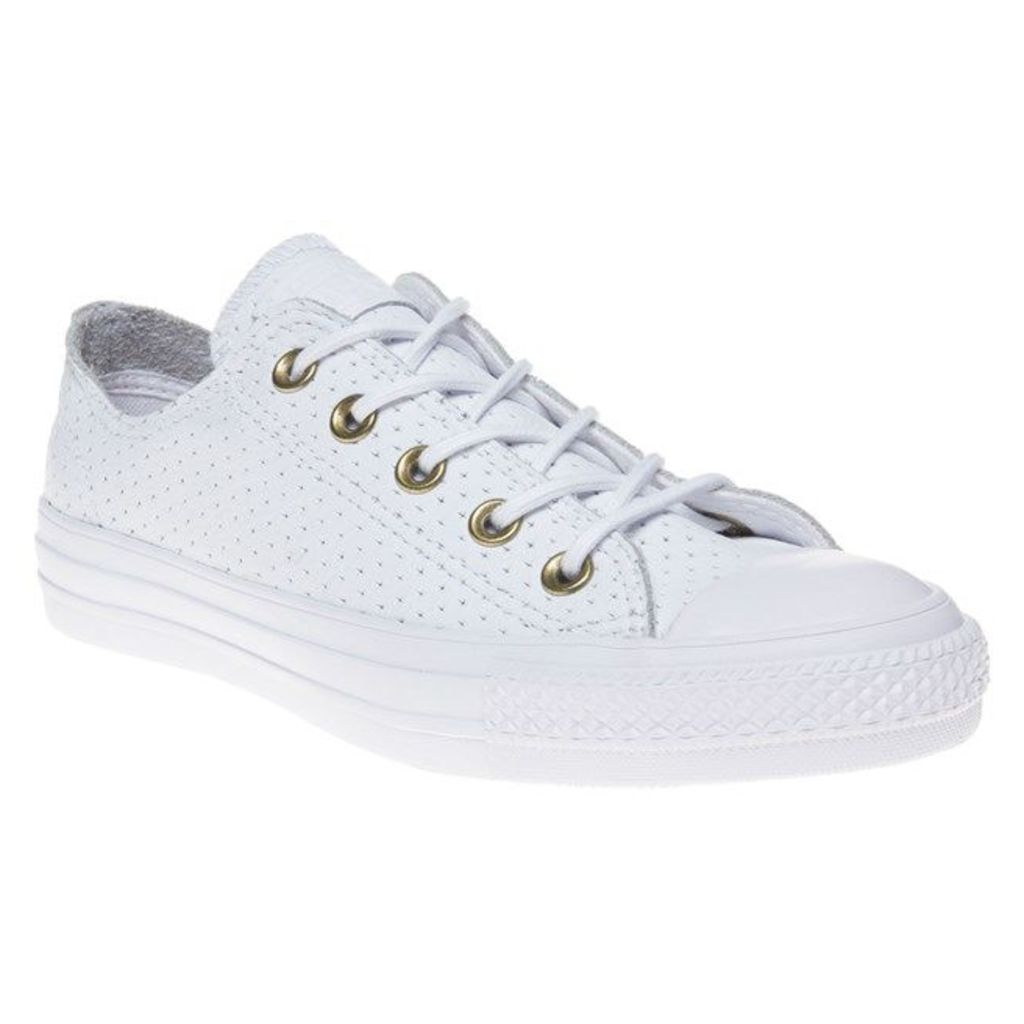 Converse All Star Ox Trainers, White/Biscuit