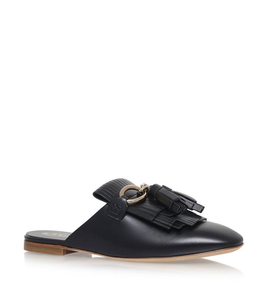 Tod'S, Ballet Leather Mules, Female