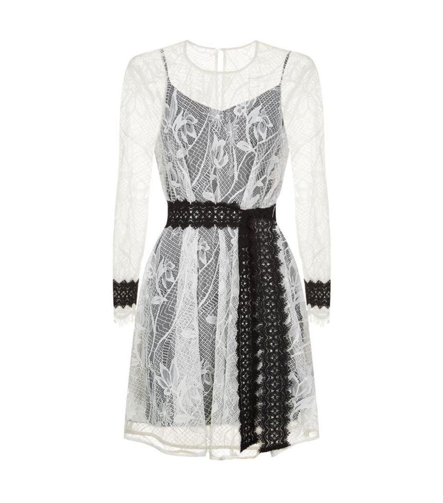 Maje, Lace Dress, Female