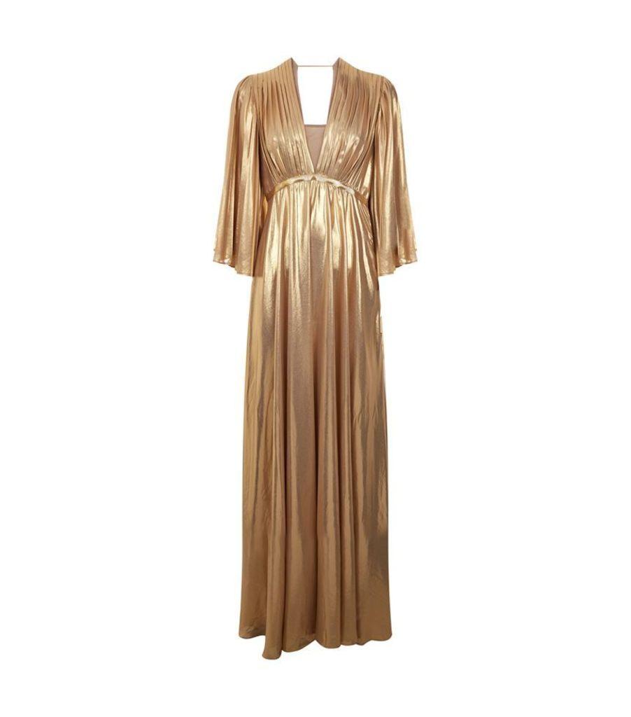 Pinko, Georgette Pleated Dress, Female