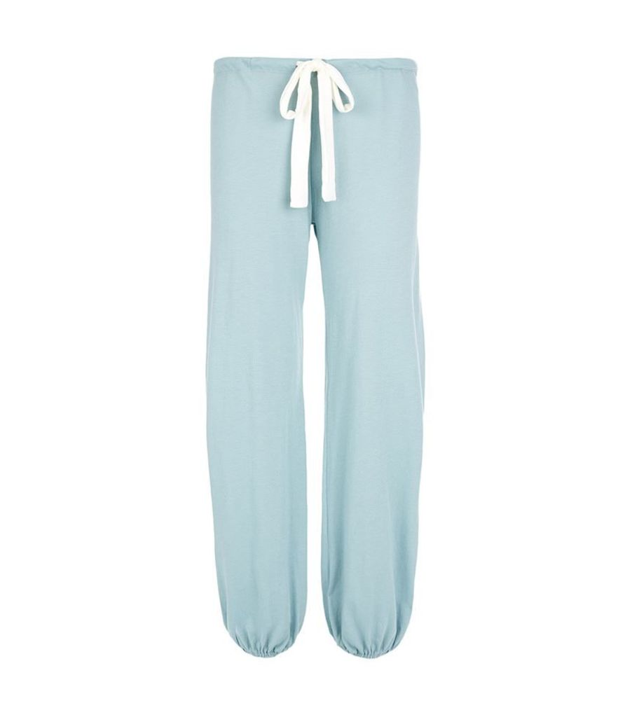 Eberjey, Drawstring Cropped Pyjama Bottoms, Female