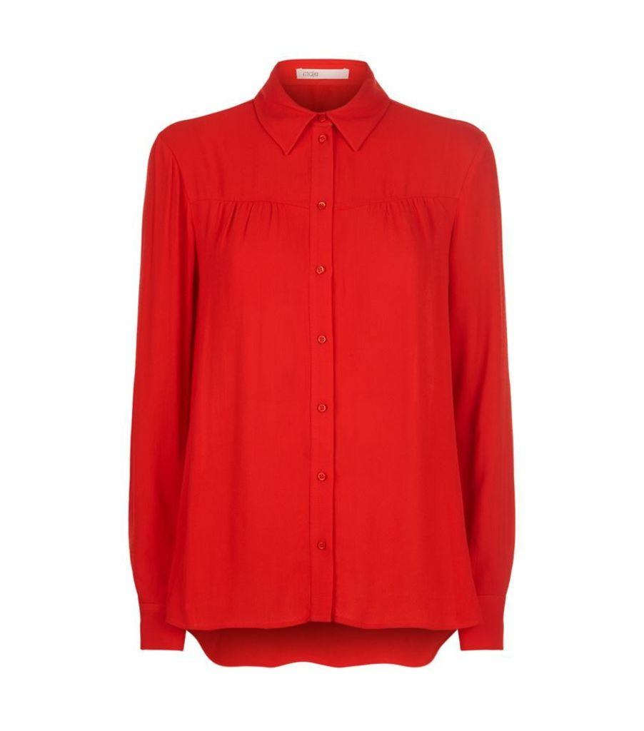Maje, Coleta Shirt, Female