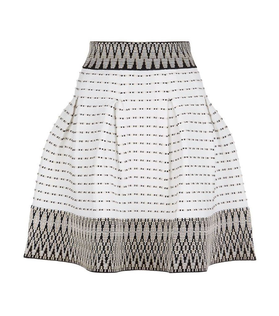 Maje, Jiselle Jacquard Skirt, Female