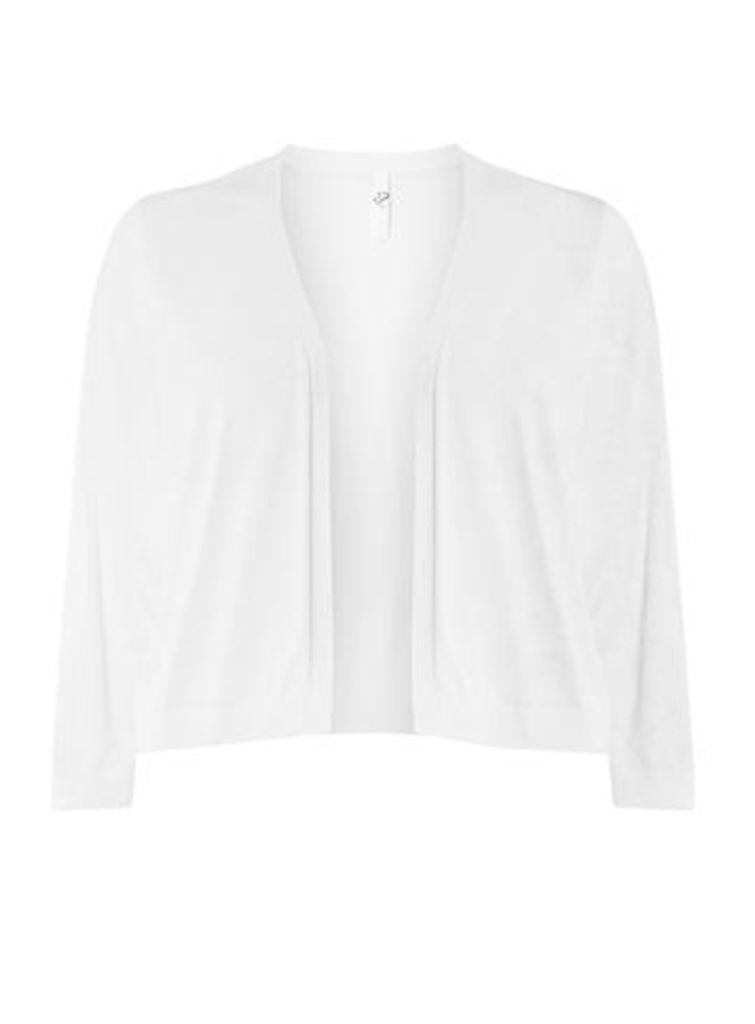 White Basic Shrug, White