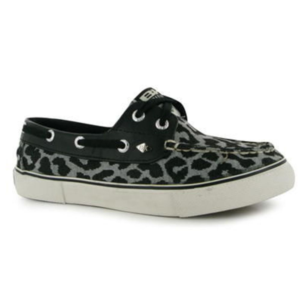 British Knights Deck Leopard Ladies Boat Shoes