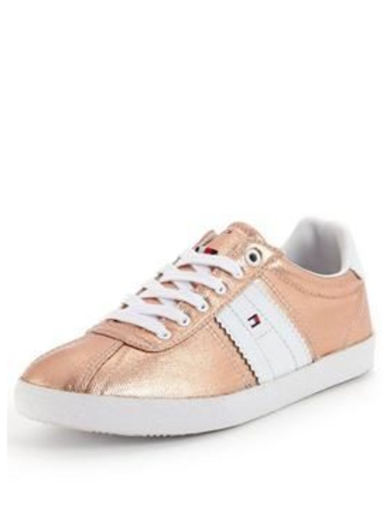 Tommy Hilfiger Lizzie Rose Gold Trainer