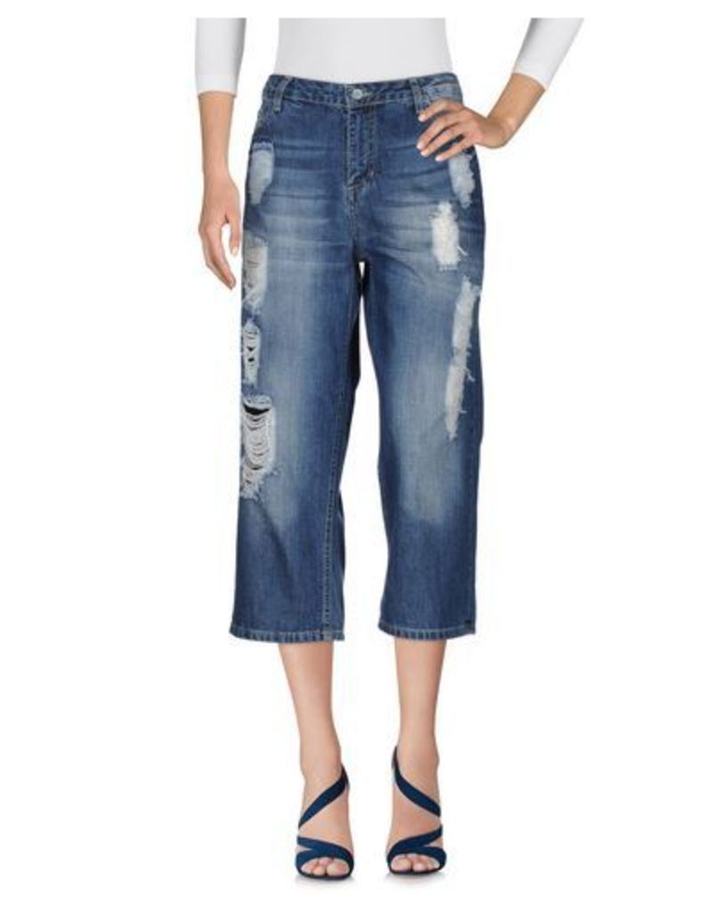SHIKI DENIM Denim trousers Women on YOOX.COM