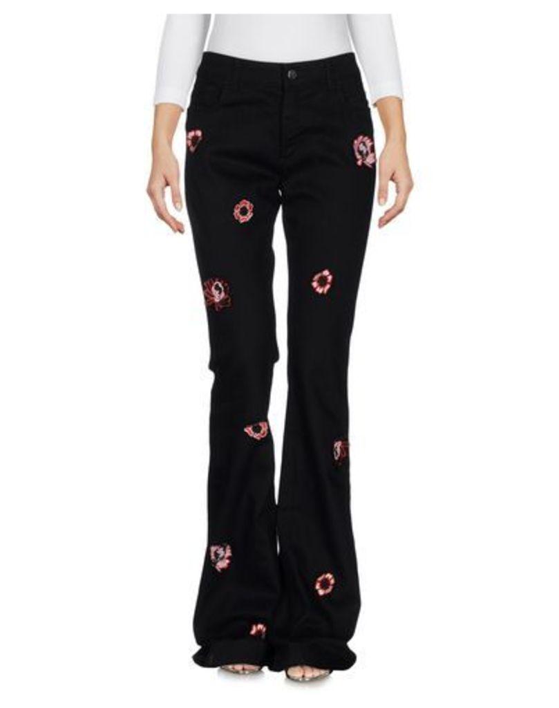 SIMONA CORSELLINI DENIM Denim trousers Women on YOOX.COM