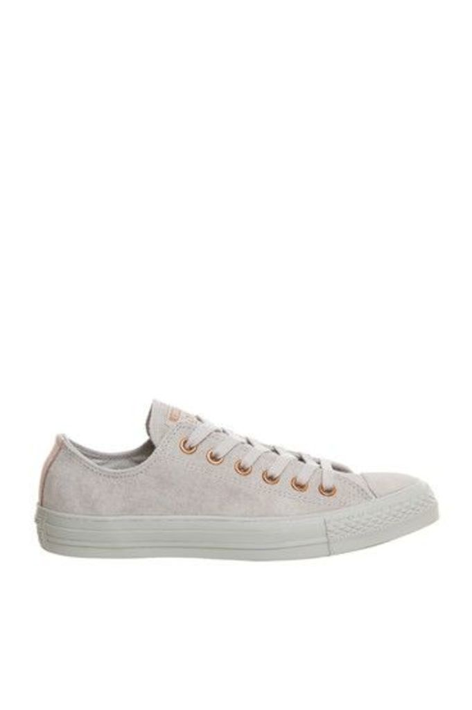 Womens **All Star Low Trainers by Converse - Grey, Grey