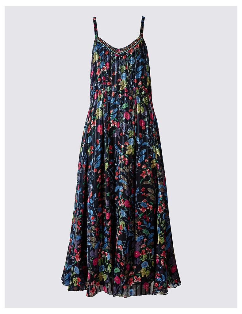 Per Una Bali Floral Print Slip Dress