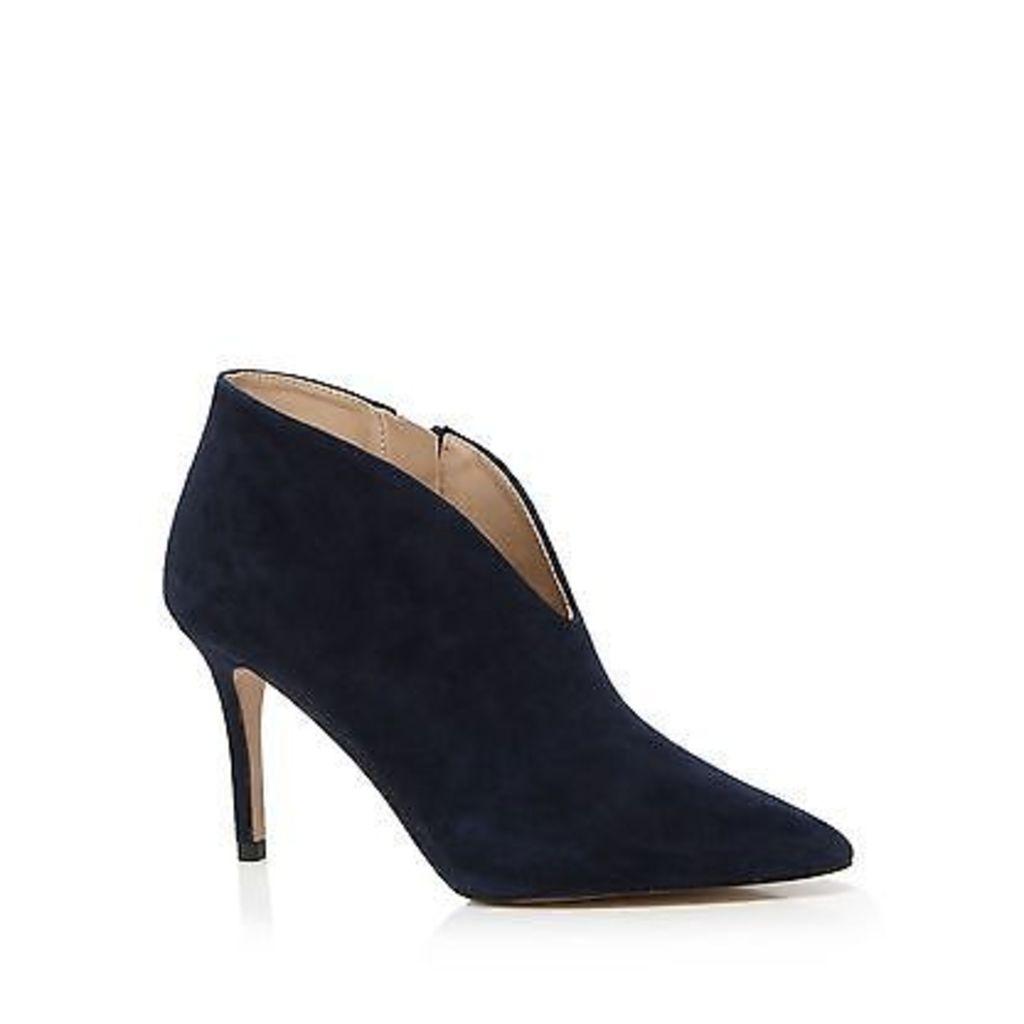 J By Jasper Conran Navy Suede High Stiletto Heel Shoe Boots From Debenhams