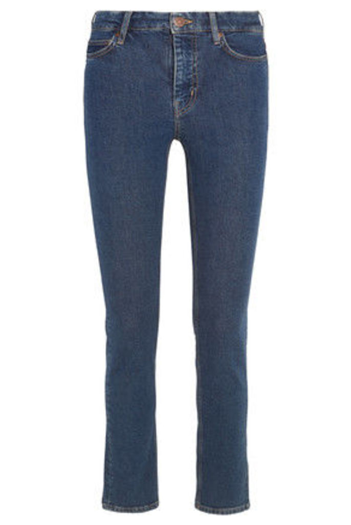 M.i.h Jeans - Daily High-rise Slim-leg Jeans - Mid denim