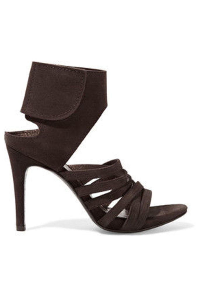 Pedro Garcia - Sanna Suede Sandals - Dark brown