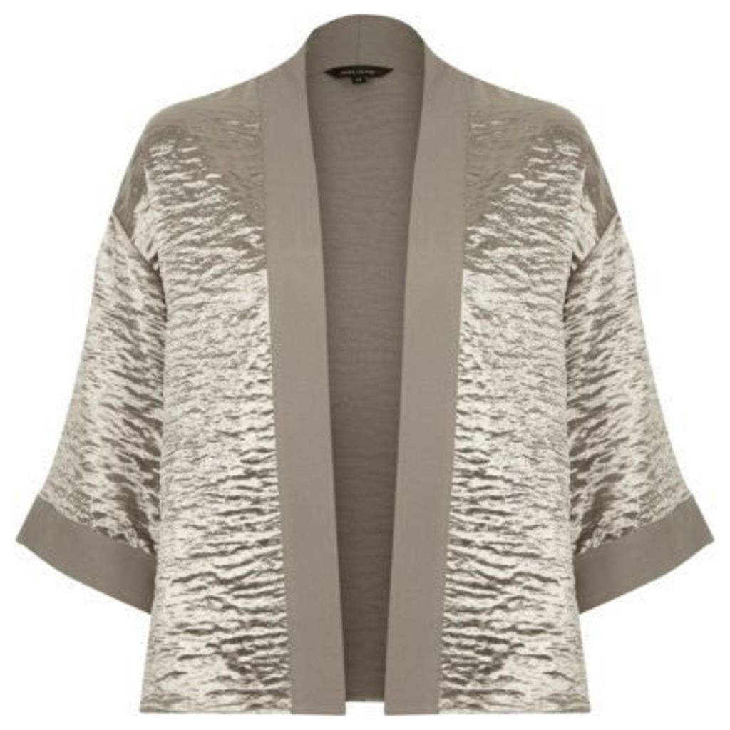 River Island Womens Grey cropped cape