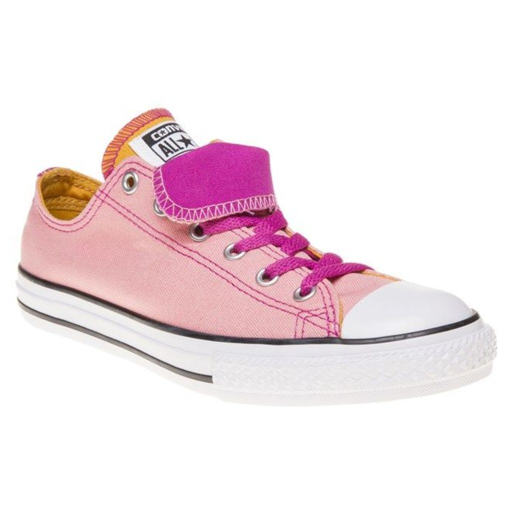 Converse All Star Double Tongue Trainers, Daybreak Pink