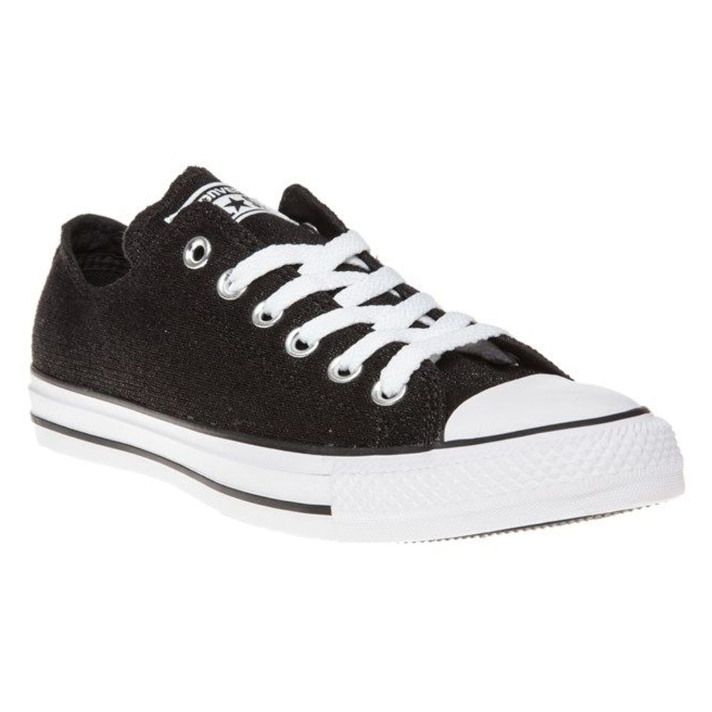 Converse All Star Ox Trainers, Black/White/Black