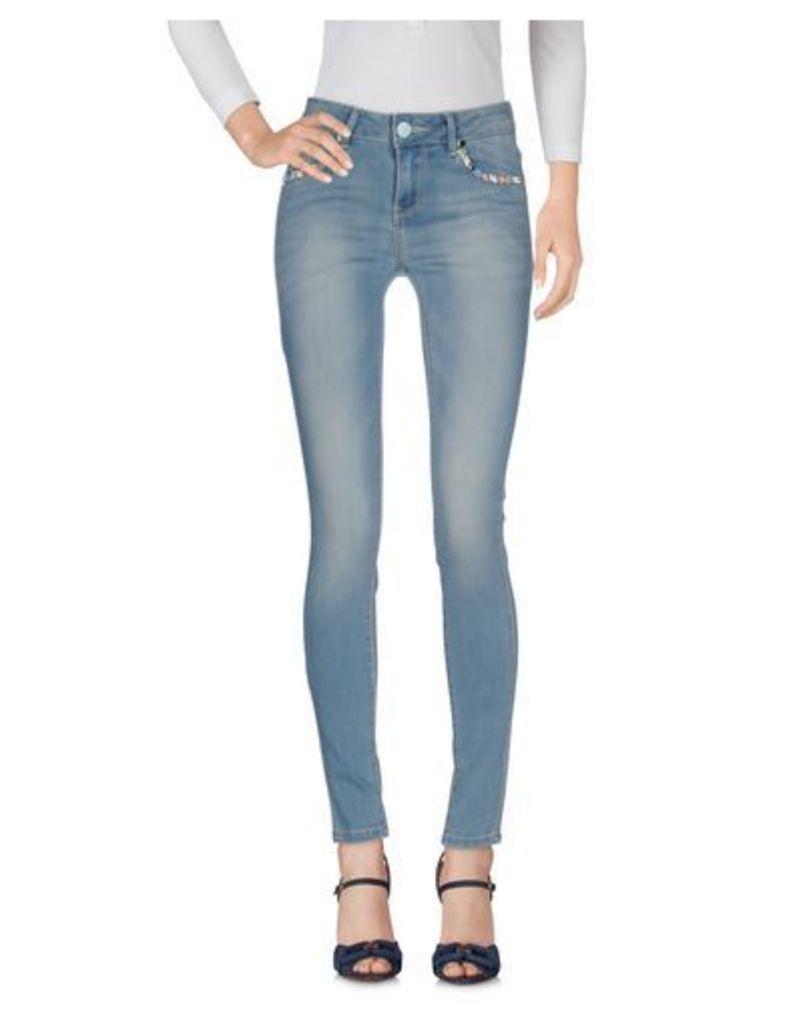 ANDREA MORANDO DENIM Denim trousers Women on YOOX.COM