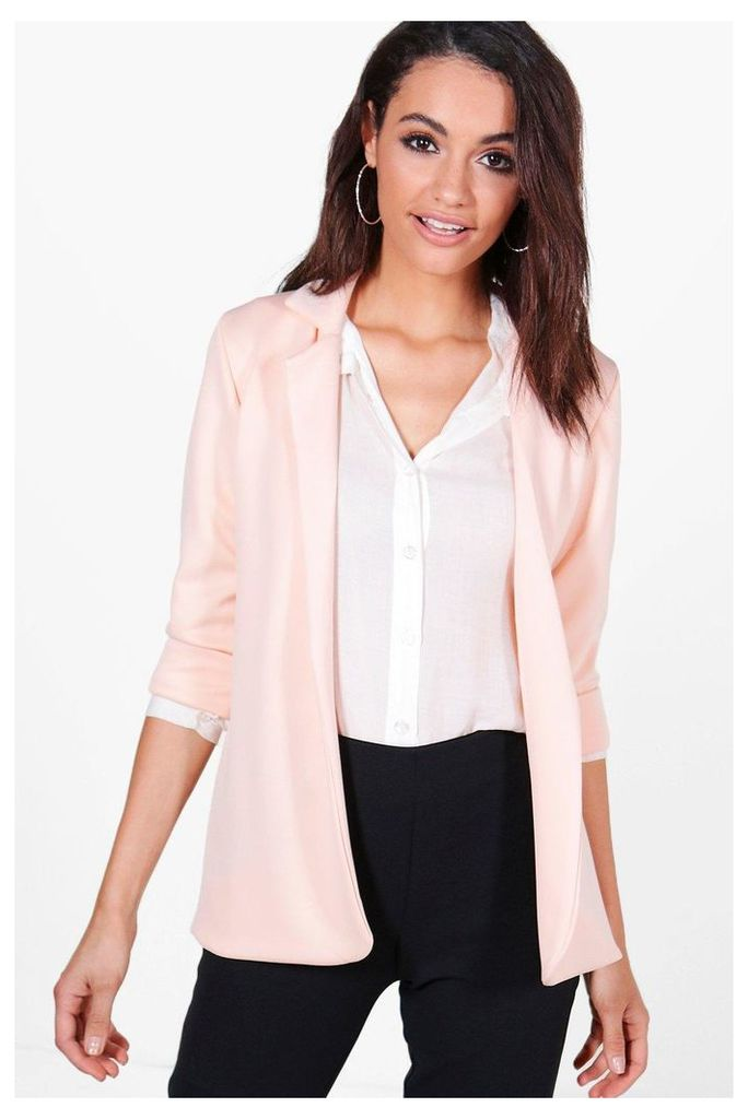 Fitted Blazer - nude