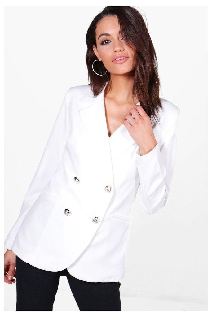 Button Jacket - ivory