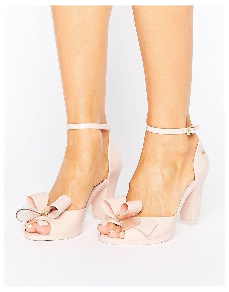 Zaxy Diva Bow Sandal - Nude