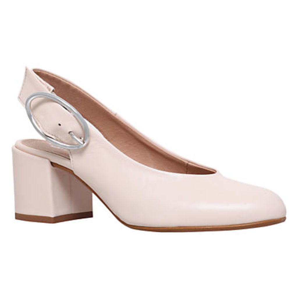 Carvela Alamo Slingback Block Heeled Court Shoes