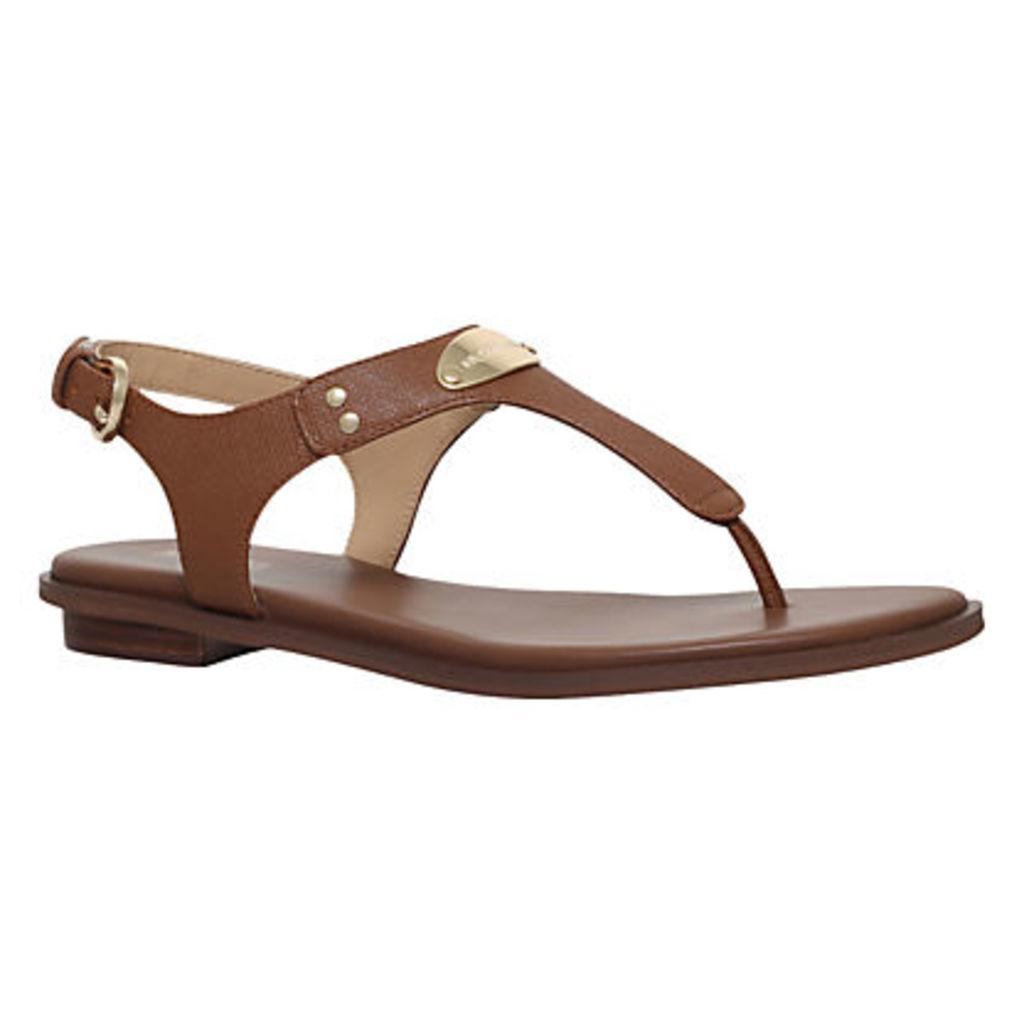 MICHAEL Michael Kors MK Plate Toe Post Sandals