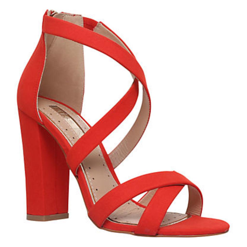 Miss KG Faun Cross Strap Block Heeled Sandals