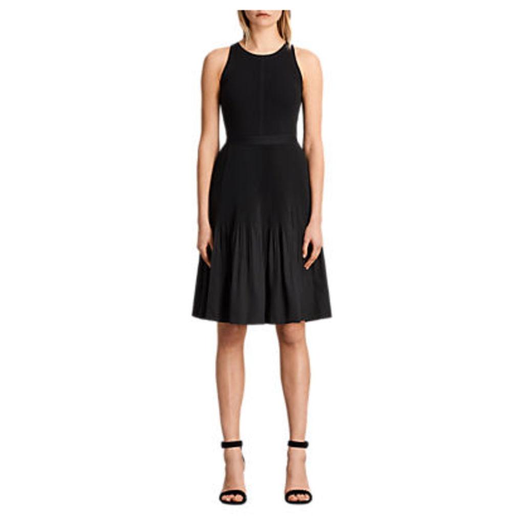 AllSaints Etta Skirt, Black