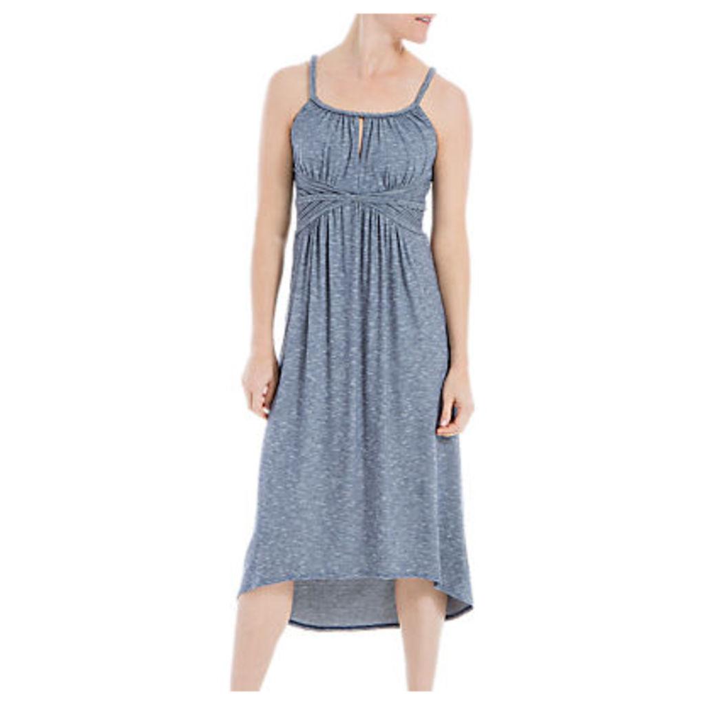 Max Studio Plait Strap Jersey Dress, Indigo