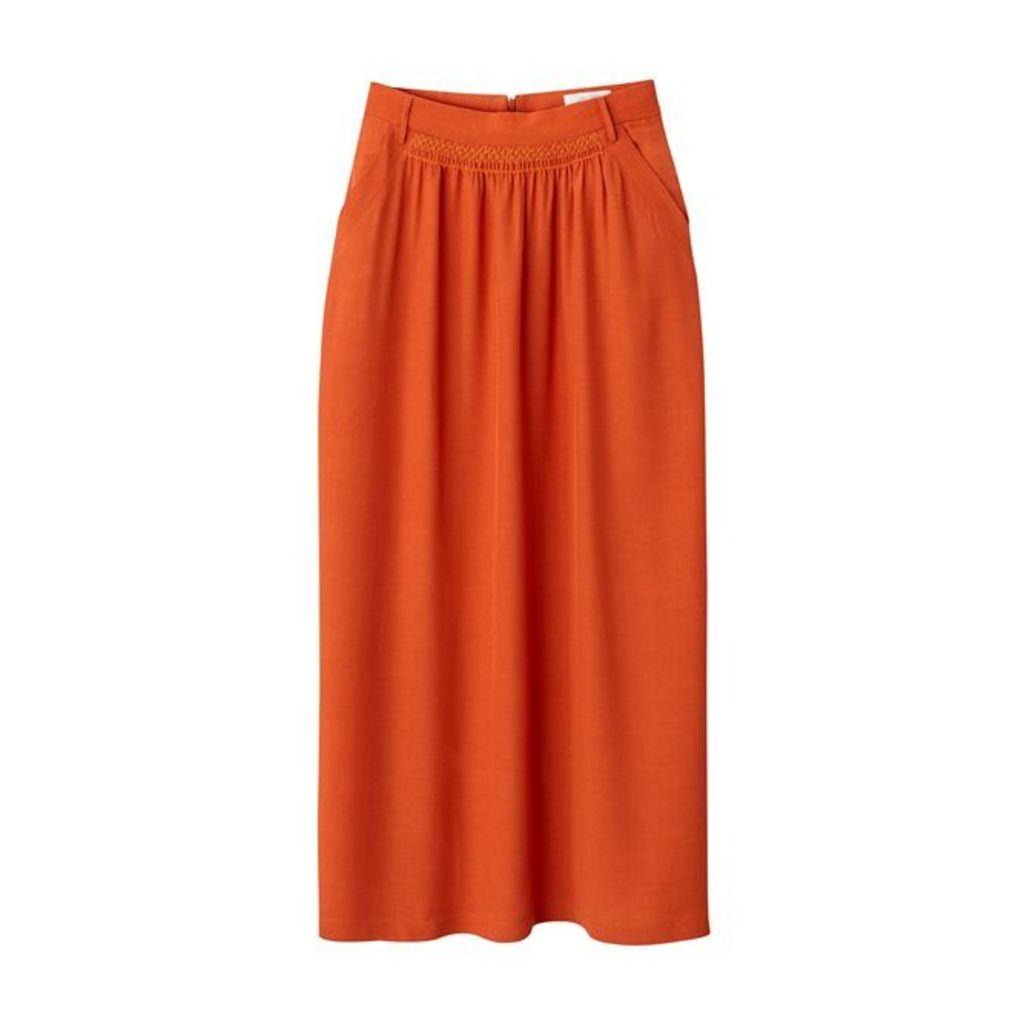 Plain Full Maxi Skirt