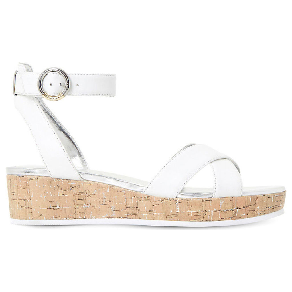 Kalipo cross strap flatform sandals