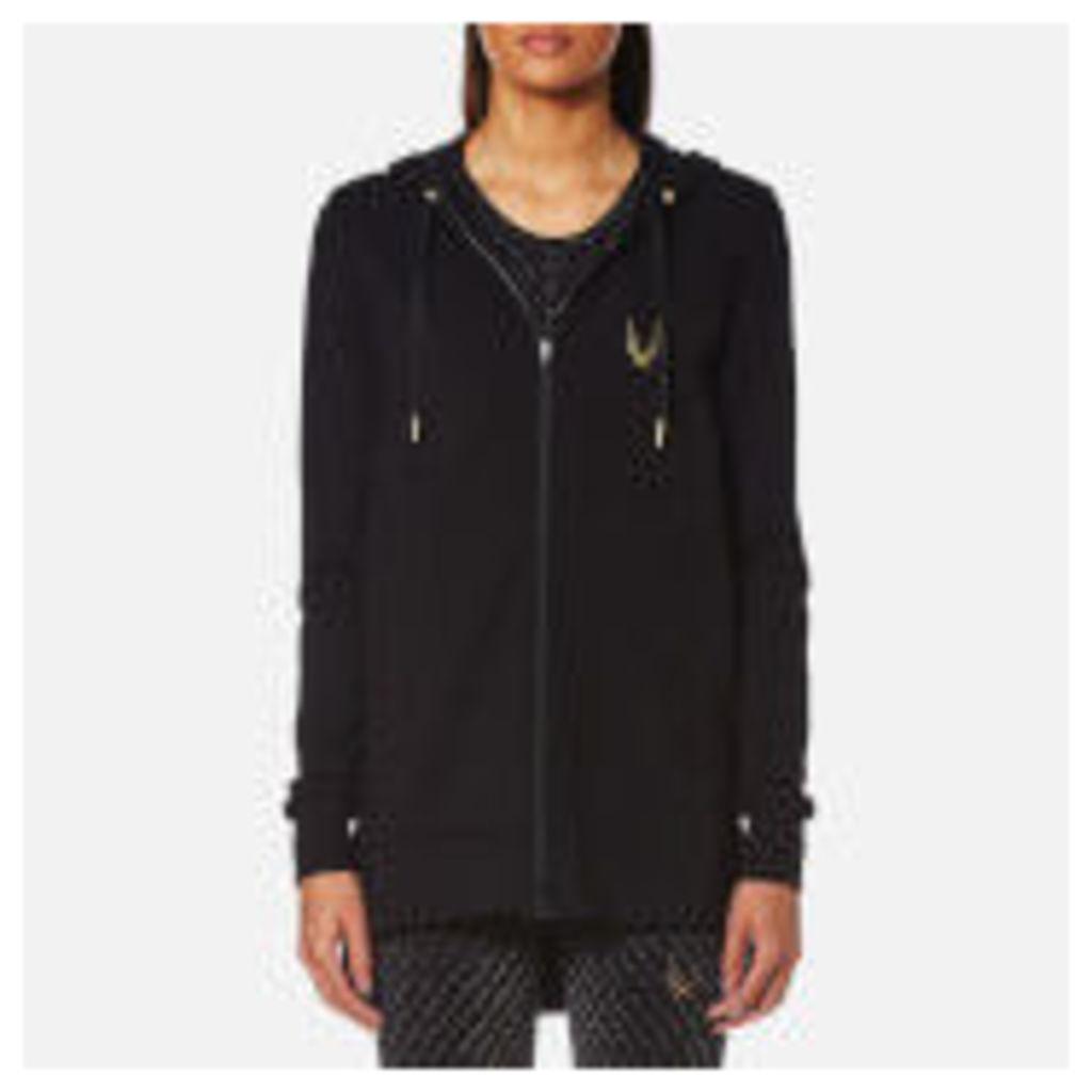 Lucas Hugh Women's Halo Hooded Sweatshirt - Black