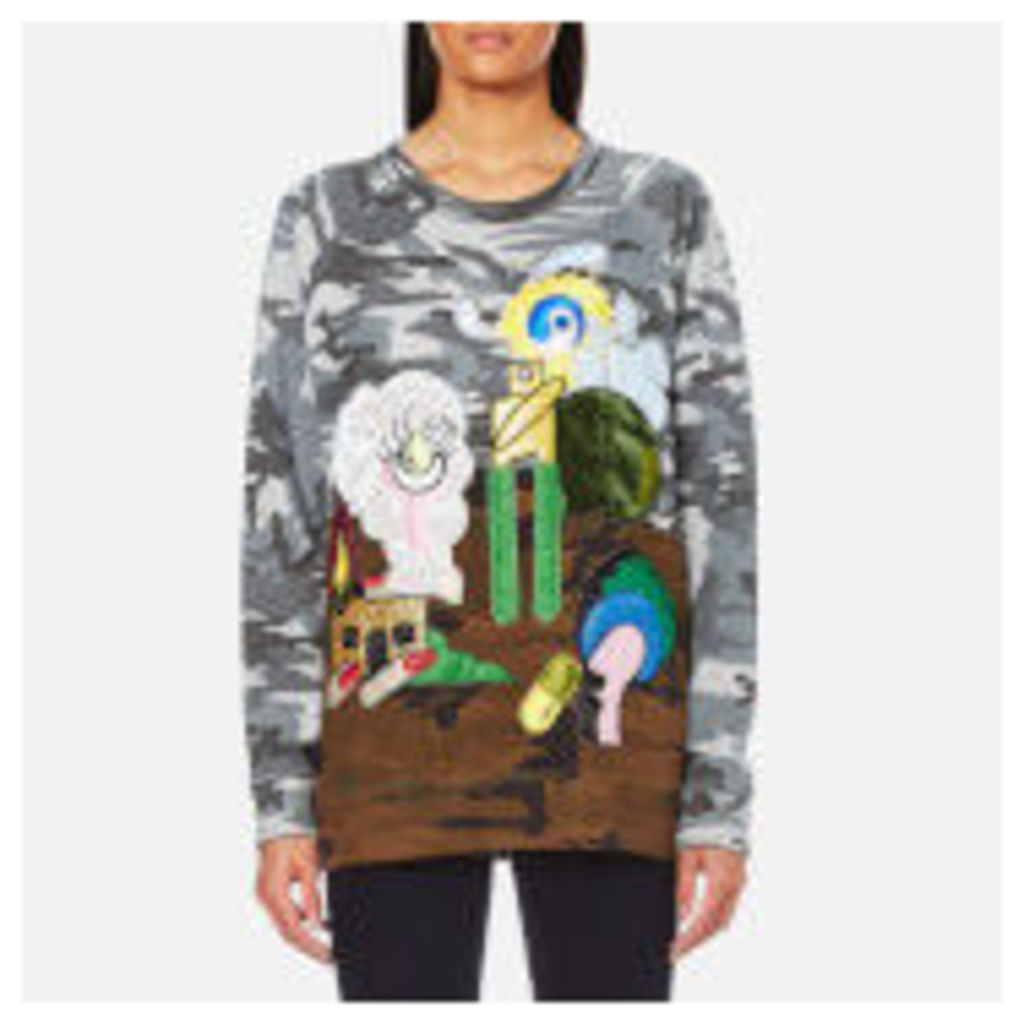 Marc Jacobs Women's Raglan Sweatshirt - Camo Julie
