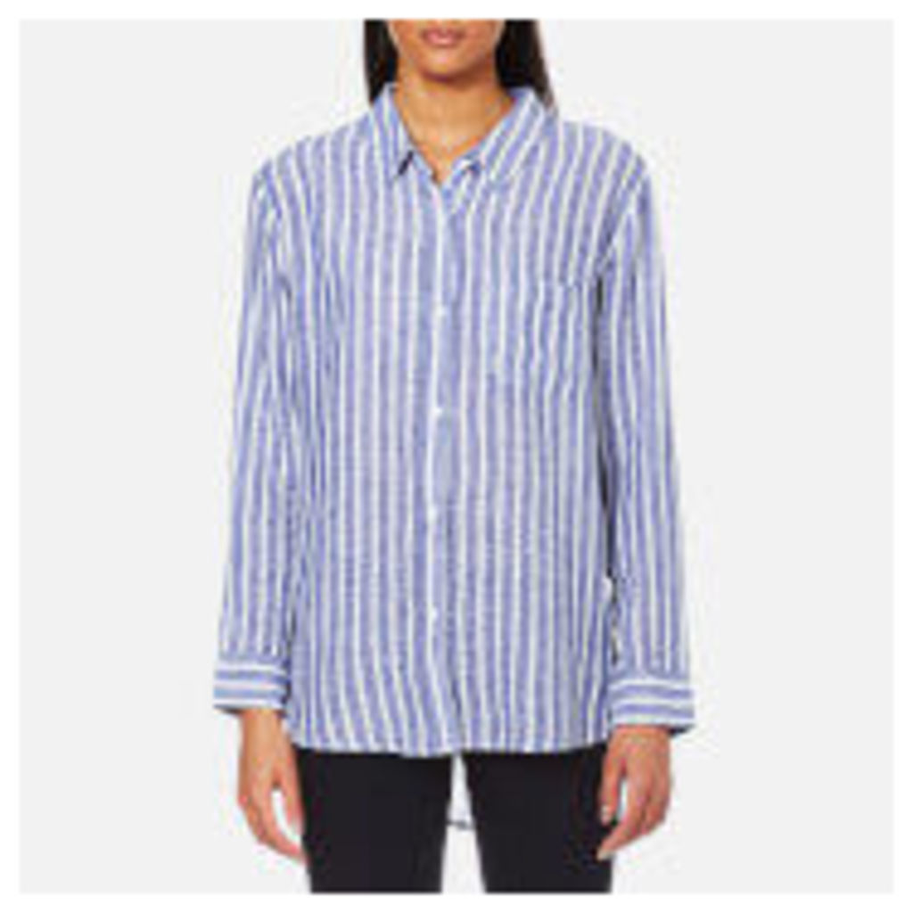 Rails Women's Charli Stripe Shirt - Parisian Blue