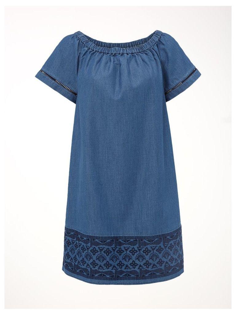 ASPEN BARDOT DRESS