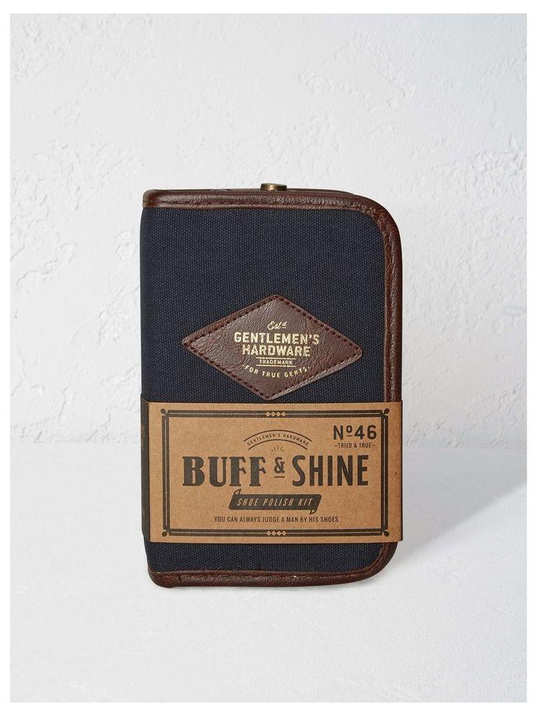 BUFF & SHINE SHOE POLLISH KIT