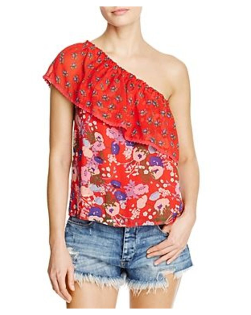 Beltaine One-Shoulder Printed Top