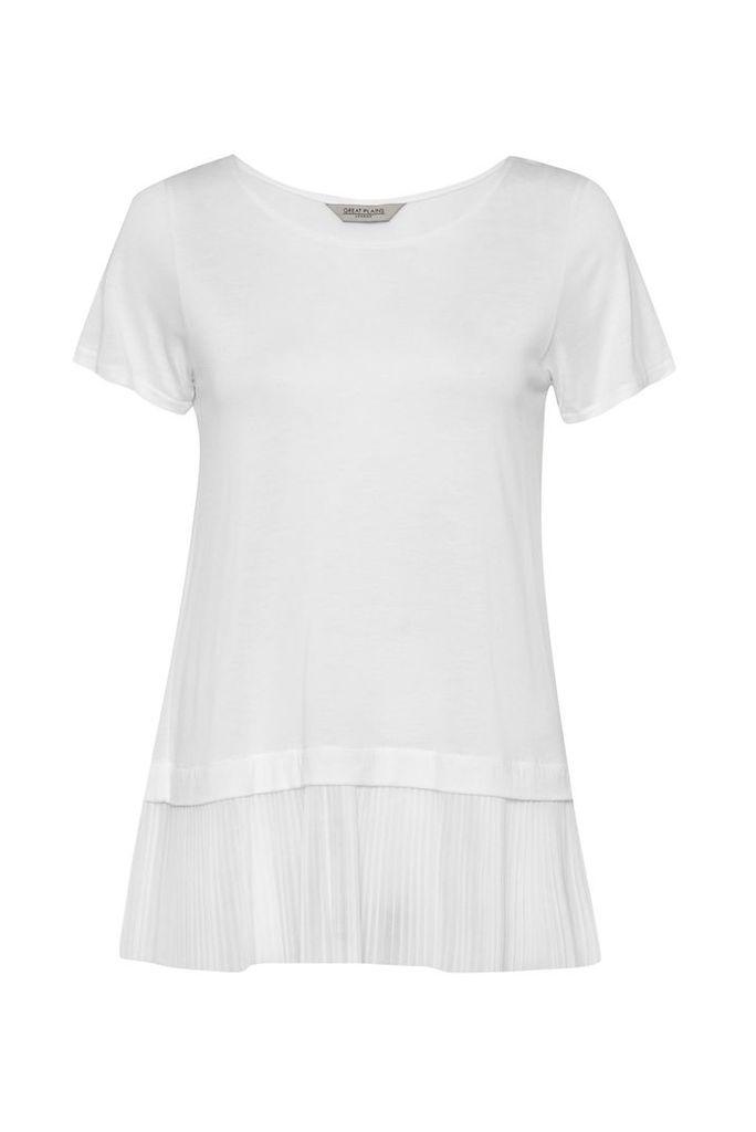 Aphrodite Pleated T-Shirt
