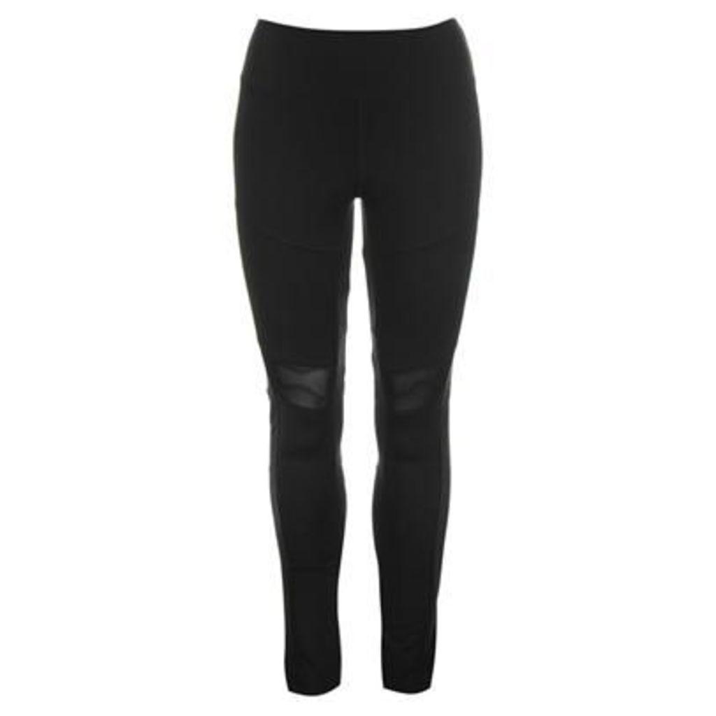 SportFX Mesh Panelled Leggings Ladies