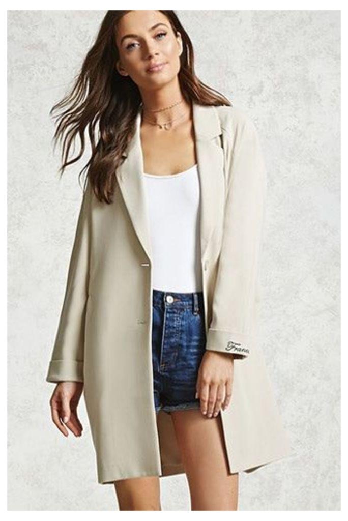 Oversized Raglan Coat