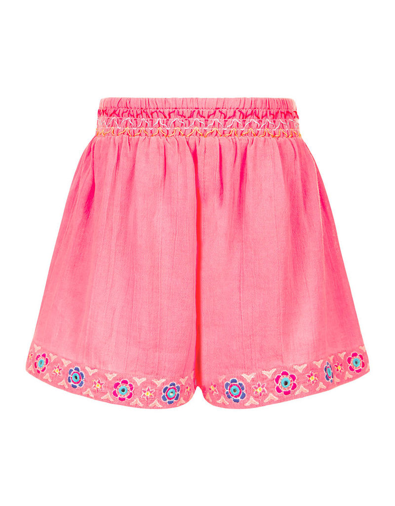 Mexicana Embroidered Shorts