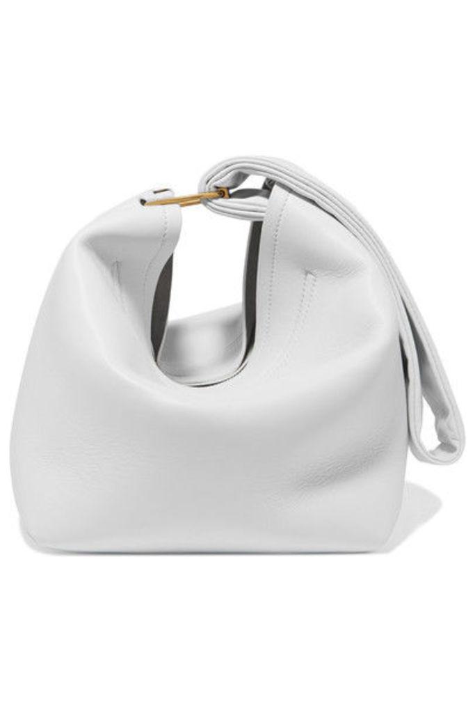 Victoria Beckham - Tissue Leather Clutch - White