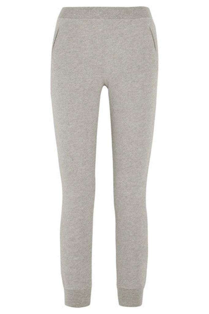 ATM Anthony Thomas Melillo - Cotton-blend Jersey Track Pants - Gray