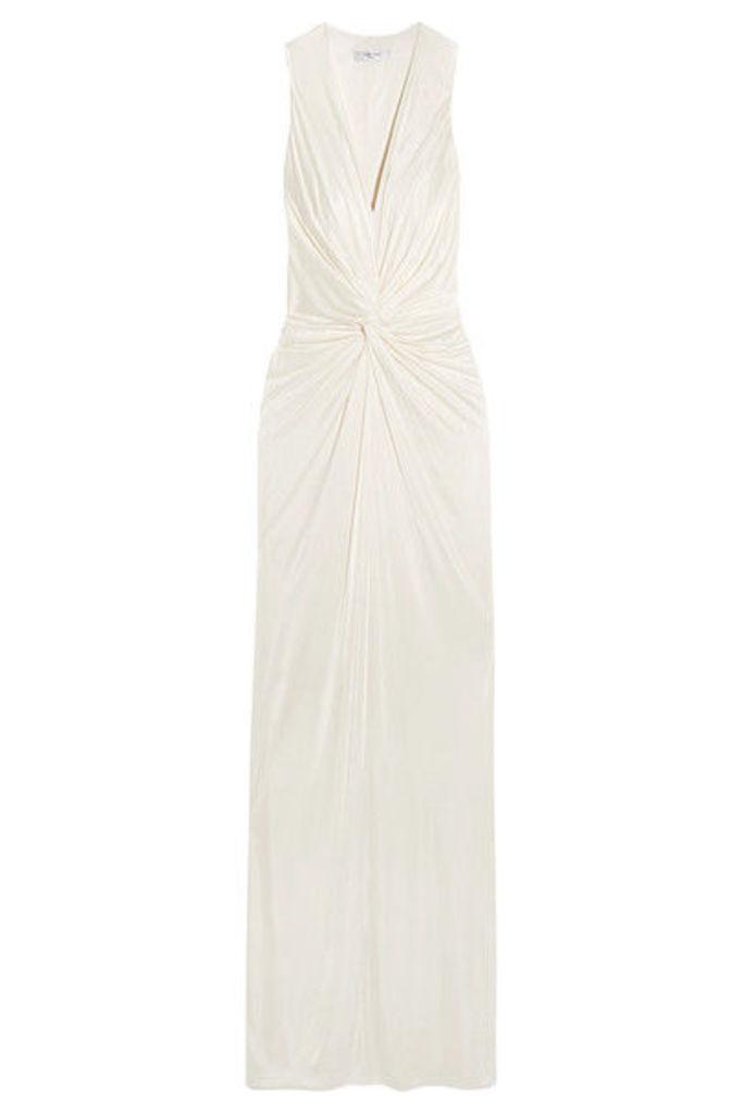 Lanvin - Twist-front Jersey Gown - Ivory