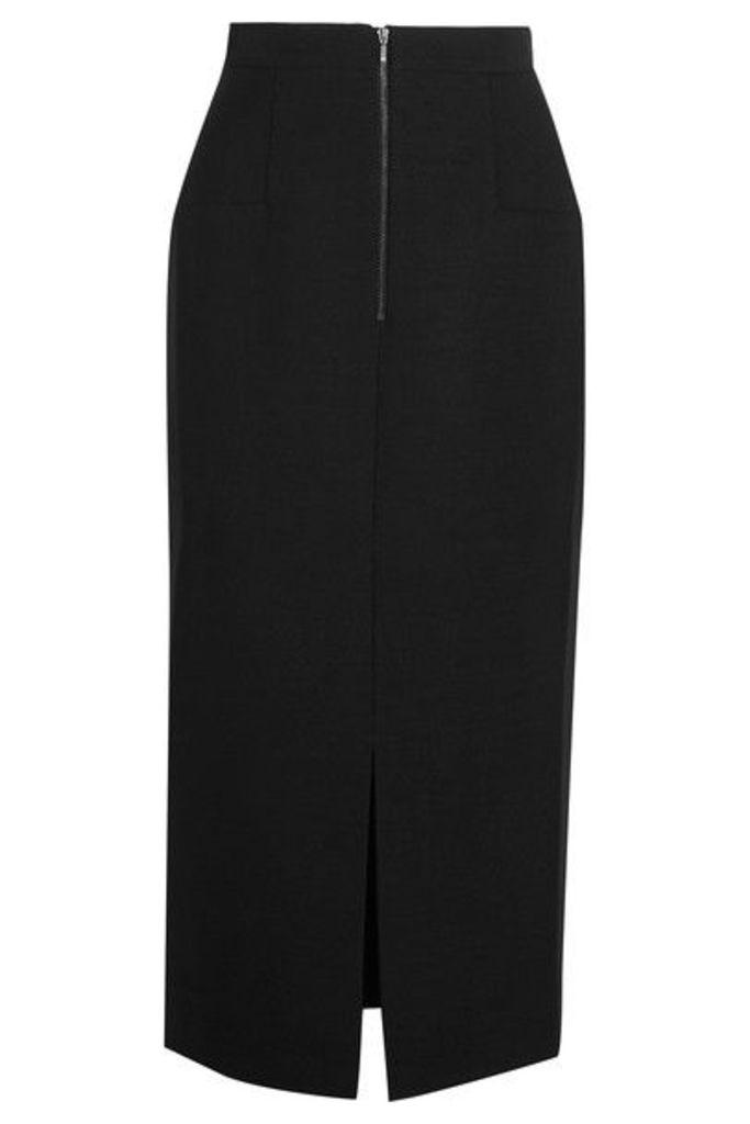 Cefinn - Hopsack Midi Skirt - Black