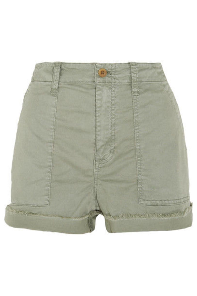 Madewell - Stretch-cotton Twill Shorts - Green