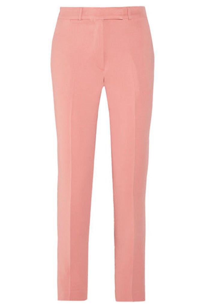 Etro - Violante Cady Slim-leg Pants - Pink